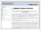 Black Enterprise Affiliate Program walkthrough page