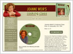 Joanne Weir's Cooking Class product description page