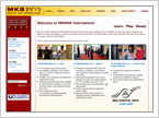 MKG Martial Arts International - A Member Solutions client site